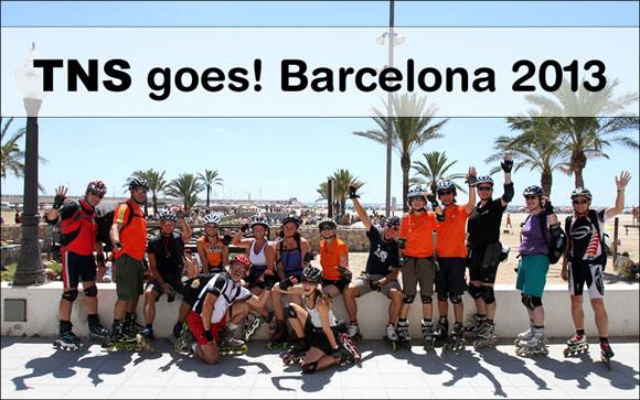 Skatereise Barcelona 2013