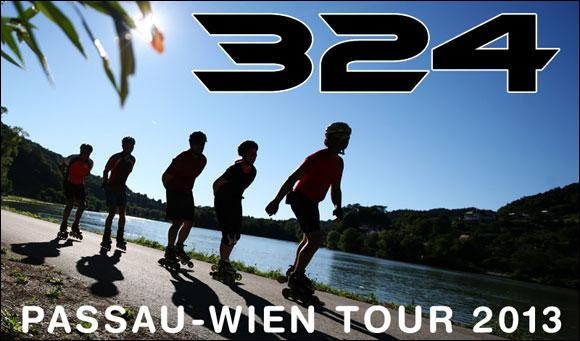 Skatereise Passau-Wien 2013