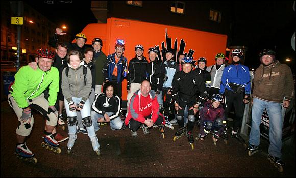 Tuesday Night Skating Frankfurt 2013 - Foto Frank Räcker
