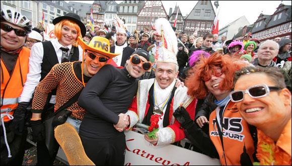 TNS beim Frankfurter Faschingsumzug 2014