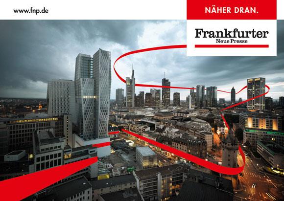 """Wir färben die Nacht rot! TNS Frankfurt und die Frankfurter Neue Presse werden am 26. August gemeinsam einen """"echten"""" roten Faden durch Frankfurt ziehen"""