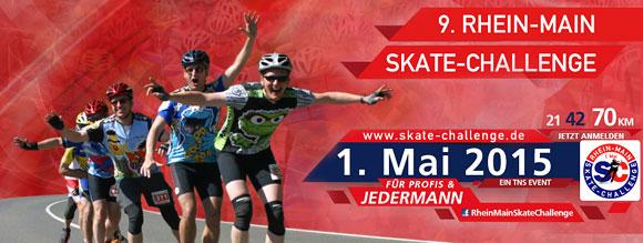 9. Rhein-Main Skate-Challenge 1. Mai 2015