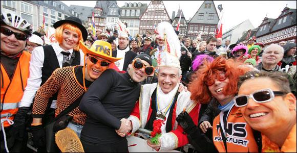 TNS beim Frankfurter Karneval 2015 | Foto Frank Räcker